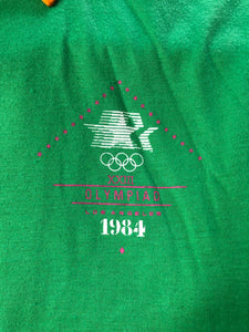 1984 USA Olympics Volunteer Polo - M - Rad Max Vintage