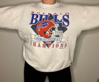 Vintage 1993 Buffalo Bills Eastern Division Champs Crew - L