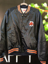 Load image into Gallery viewer, Vintage 1990s Detroit Tigers Locker Line Satin Bomber SPELL OUT - L