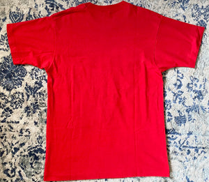 Vintage 1974-1991 University of Nebraska Cornhuskers Old Logo TSHIRT - M