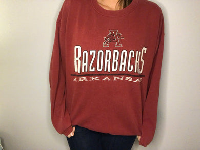 U of Arkansas Razorbacks - L - Rad Max Vintage