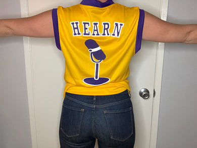 Los Angeles Lakers Chick Hearn Jersey - L - Rad Max Vintage