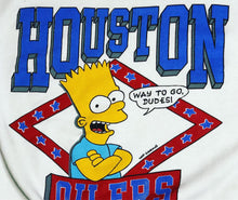 Load image into Gallery viewer, 1990 Houston Oilers Bart Simpson - M - Rad Max Vintage