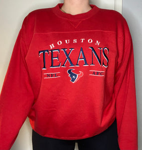 Vintage 2002 Houston Texans Oversized Crew from Lee Sport - L/XL