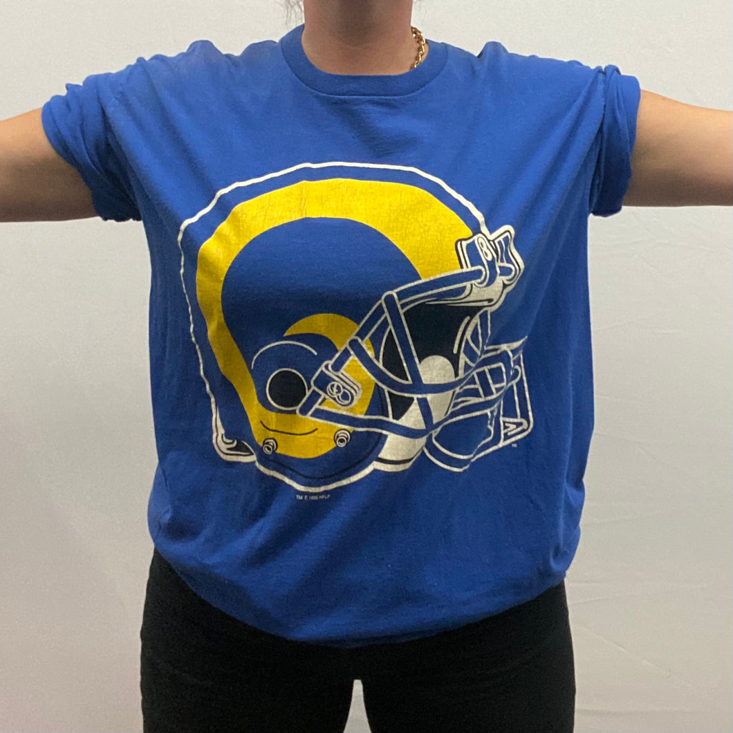 Vintage 1995 St Louis / Los Angeles LA Rams Double-Sided TSHIRT from Starter - XL