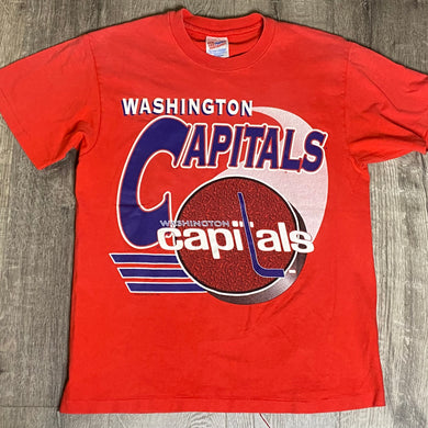 Vintage 1993 Washington Capitals Old Logo TSHIRT - M