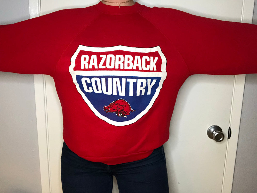 Vintage 1980s University of Arkansas Razorbacks