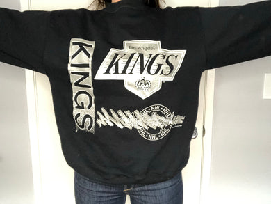 1991 Los Angeles Kings Crew - L - Rad Max Vintage