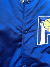 Load image into Gallery viewer, Vintage 80s Indiana Pacers Old Logo STARTER Jacket Satin Bomber - L
