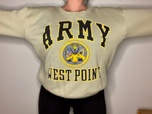 Load image into Gallery viewer, Vintage Army West Point USMA Galt Sand Crew - L