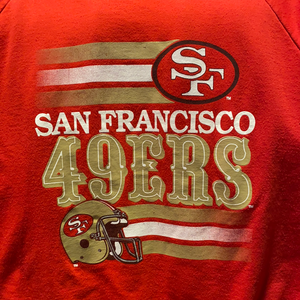 Vintage Late 80s-early 90s San Francisco SF 49ers Crew - M-L