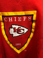 Load image into Gallery viewer, Vintage Early 90s Kansas City Chiefs Embroidered TURTLENECK - L