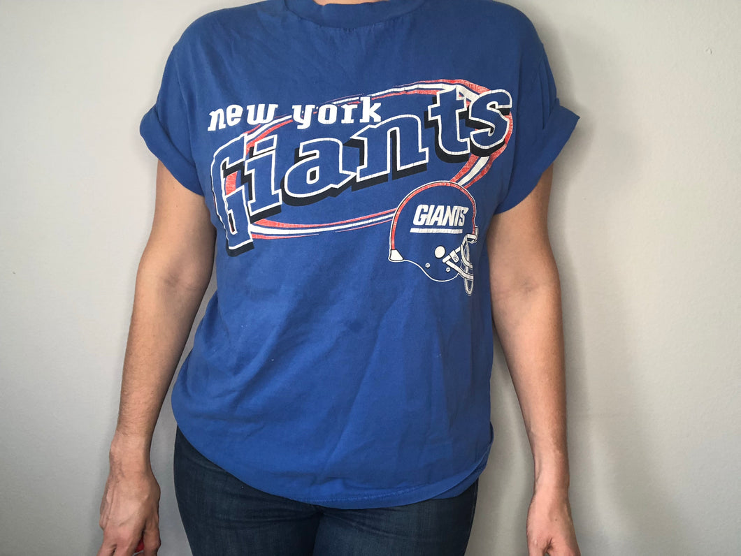 New York Giants T-SHIRT - M - Rad Max Vintage