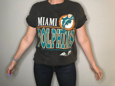 Vintage 1994 Miami Dolphins Double-Sided TSHIRT - M