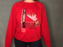 Load image into Gallery viewer, Vintage 1972-1994 Atlanta Hawks Old Logo Crew - L