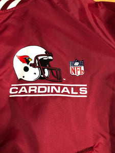 Arizona Cardinals Chalk Line Windbreaker NWT - M - Rad Max Vintage