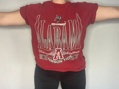 Vintage University of Alabama Crimson Tide TSHIRT - L