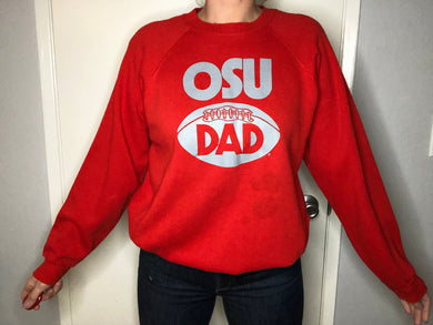 OSU Ohio State Dad Crewneck - XL - Rad Max Vintage