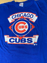 Load image into Gallery viewer, Vintage 1989 Chicago Cubs TSHIRT from Garan - XL