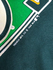 Vintage 1988 Oakland A's Athletics Crewneck - L