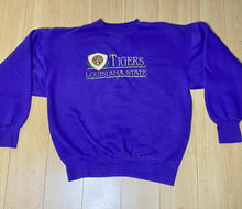 Load image into Gallery viewer, Vintage 1990s Louisiana State University LSU Tigers Embroidered Crew - L/XL
