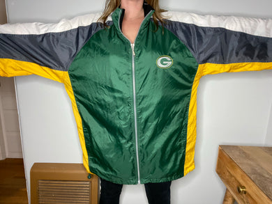 Vintage Green Bay Packers STARTER JACKET Windbreaker - XXL