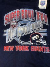 Load image into Gallery viewer, 1990 Giants Superbowl T-SHIRT - L - Rad Max Vintage