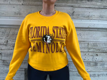 Load image into Gallery viewer, Vintage Florida State University FSU Seminoles Crew - M
