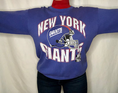 Vintage 1994 New York Giants Monday Night Football TURTLENECK - L