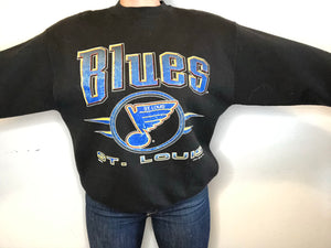 1993 St Louis Blues Crewneck - L