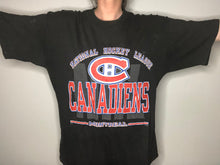 Load image into Gallery viewer, Vintage Montreal Canadiens Habs TSHIRT - L