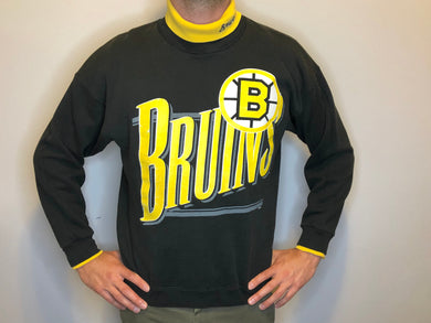 Vintage Boston Bruins Turtleneck - L