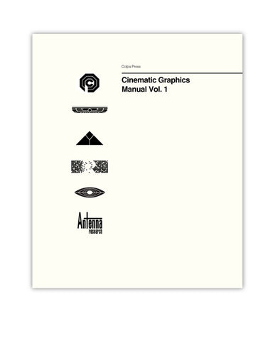 Cinematic Graphics Manual Vol.1