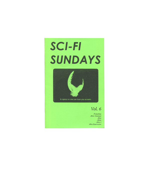 Sci-Fi Sundays, Vol. 6 — Sarah Hotchkiss