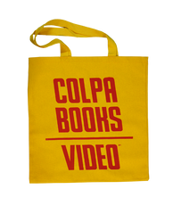 Colpa Books/Video Tote Bag