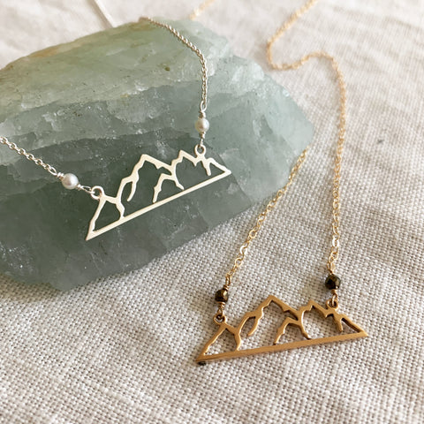 3 Sisters Mountain Necklace