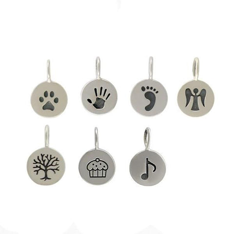 Sterling Silver Icon Charms