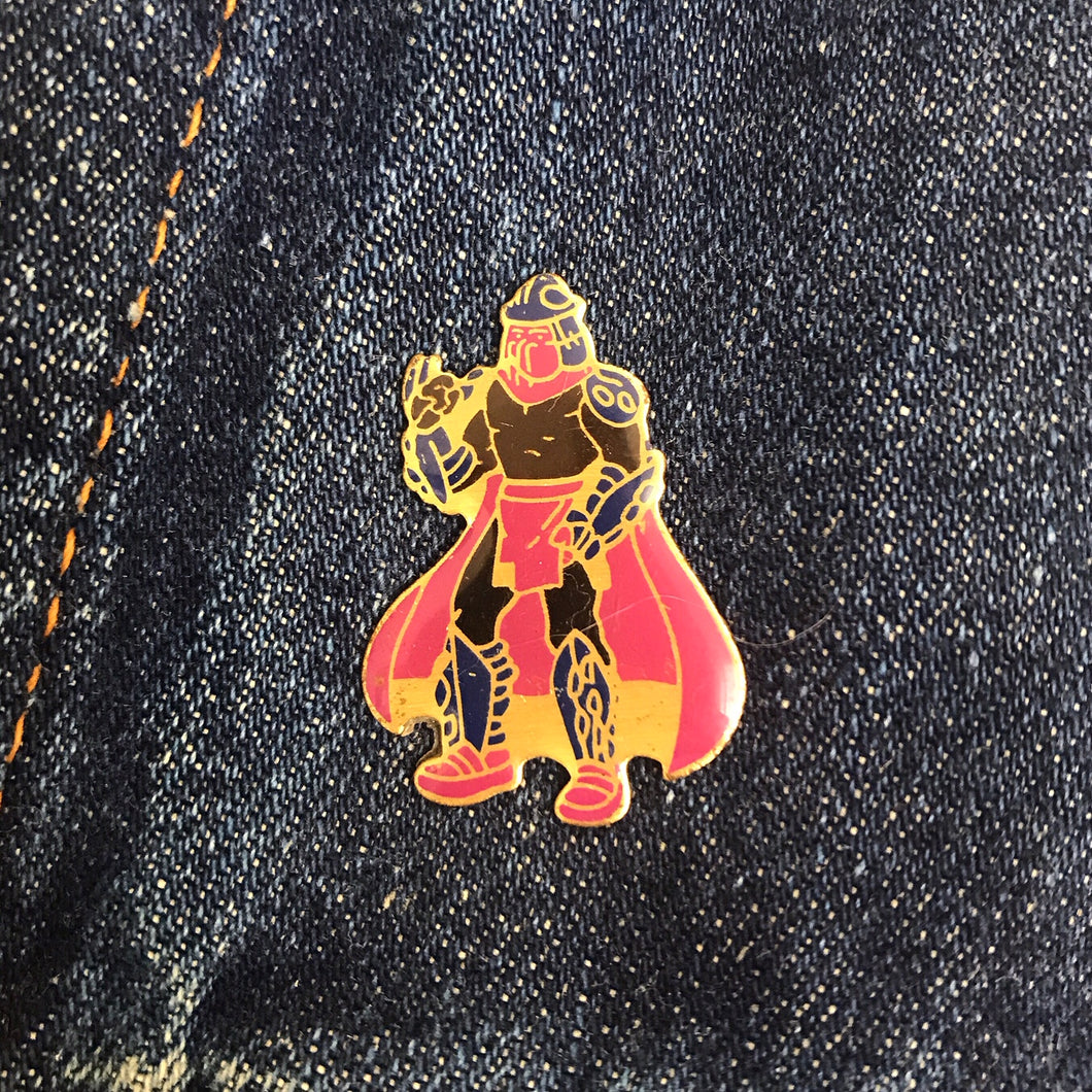 TMNT SHREDDER 90'S PIN