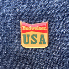 Load image into Gallery viewer, BUDWEISER USA 80'S PIN