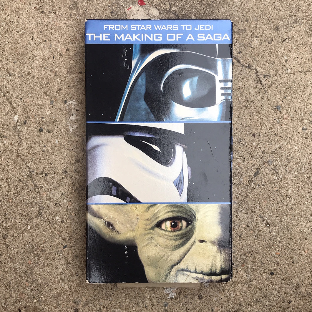THE MAKING OF STAR WARS 95 VHS TAPE