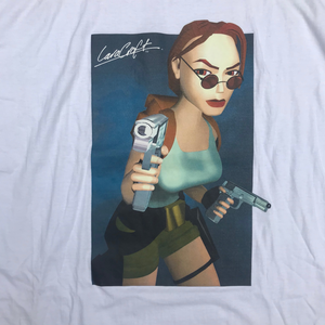 LARA CROFT TOMB RAIDER DEADSTOCK 90'S T-SHIRT