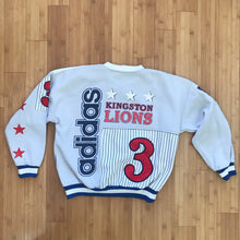 Load image into Gallery viewer, ADIDAS 'KINGSTON LIONS' 80'S SWEATER