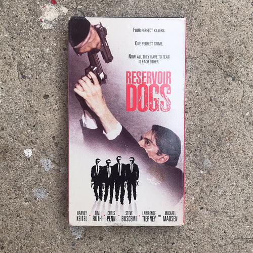 RESERVOIR DOGS 93 VHS TAPE