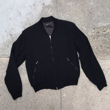 Load image into Gallery viewer, AGNES B. SALAMANDER 90'S BOMBER JACKET