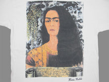 Load image into Gallery viewer, FRIDA KAHLO PORTRAIT 90'S T-SHIRT