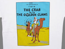 Load image into Gallery viewer, TINTIN 'CRAB...CLAWS' 90'S T-SHIRT