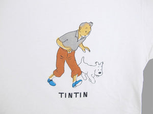 TINTIN 'CIGARS..PHARAOH' 90'S T-SHIRT