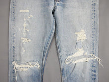 Load image into Gallery viewer, LEVI'S 501 70'S RIPPED W32 DENIM