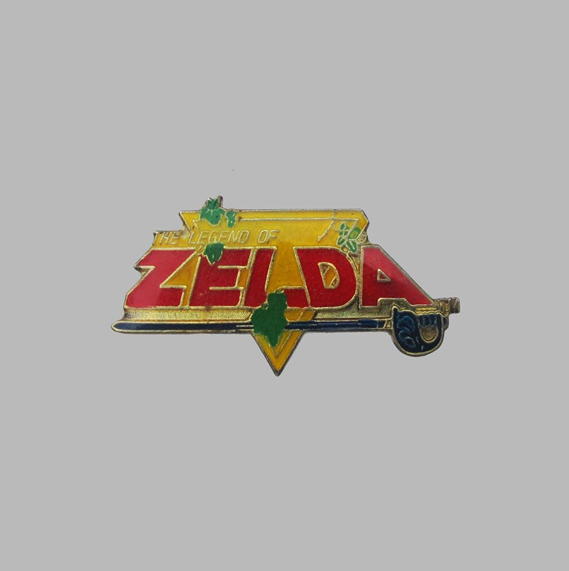 THE LEGEND OF ZELDA 80'S PIN