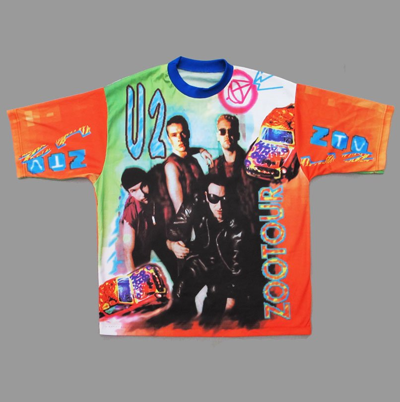 U2 ZOO TV TOUR 90'S BOOTLEG T-SHIRT